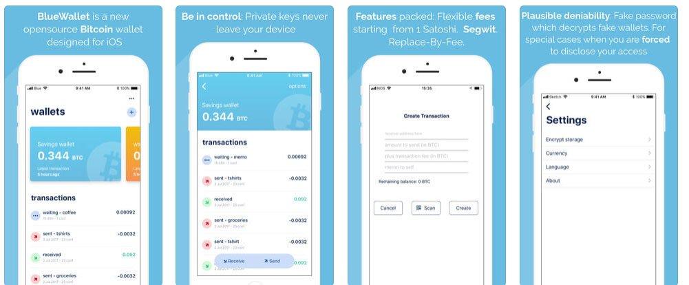 bluewallet screenshot