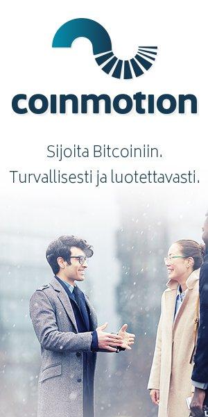 sijoita bitcoiniin - coinmotion