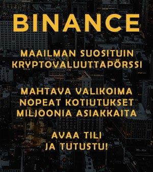 Avaa tili Binance pörssiin