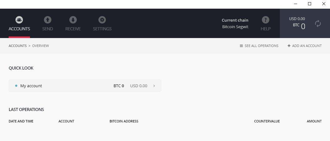 ledger nano bitcoin lompakko