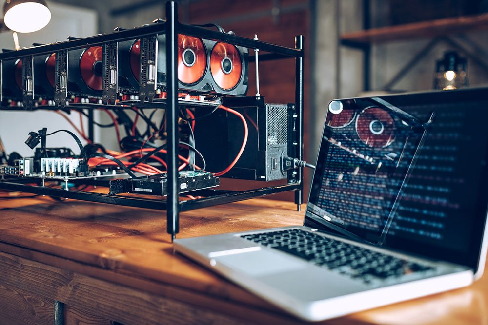 GPU setup for mining cryptocurrency