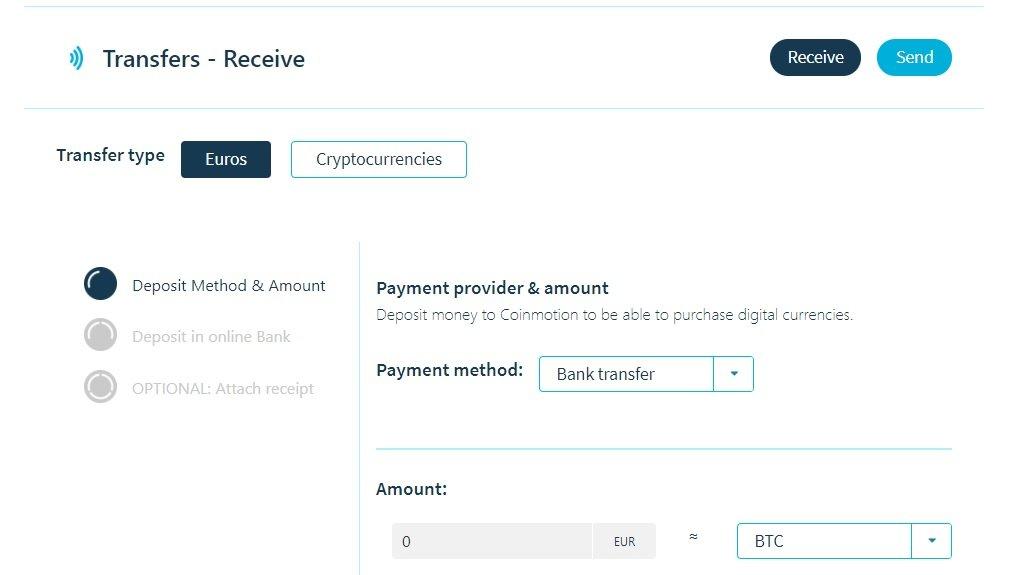 coinmotion transfers