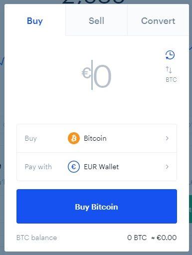 coinbase osta bitcoin
