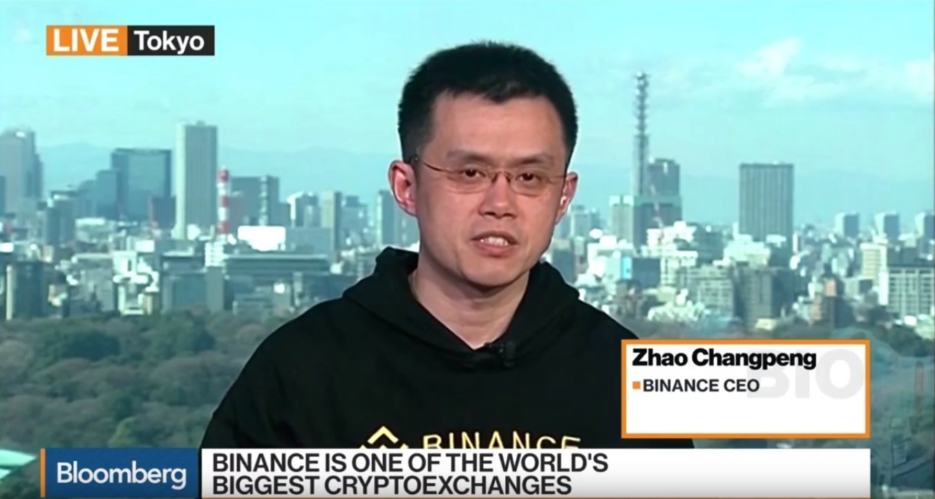 binance coin changpeng zhao