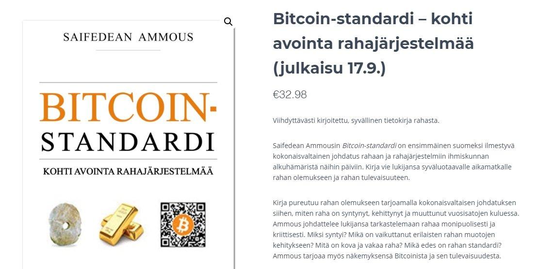 bitcoin standardi