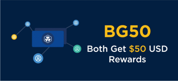 Crypto.com BG50 bonus