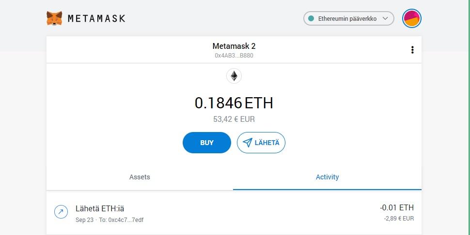 MetaMask käyttöopas 32